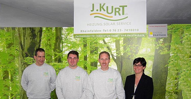 Joachim Kurt Heizungsbau mit Team